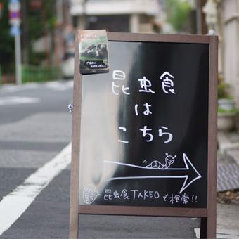 昆虫食実店舗の営業日カレンダー